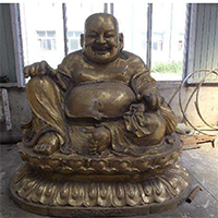 XFGS678-弥勒菩萨铜雕塑像多少钱