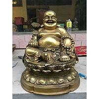 XFGS685-弥勒菩萨铜雕塑像厂家