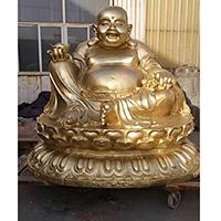 XFGS688-弥勒菩萨铜雕塑像设计