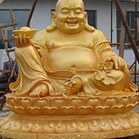 XFGS691-弥勒菩萨铜雕塑像制作