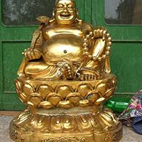 XFGS694-弥勒菩萨铜雕塑像多少钱