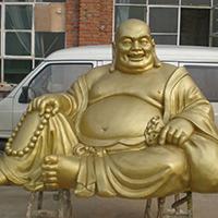 XFGS697-弥勒菩萨铜雕塑像公司
