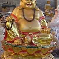 XFGS698-弥勒菩萨铜雕塑像供应