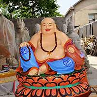 XFGS699-弥勒菩萨铜雕塑像加工