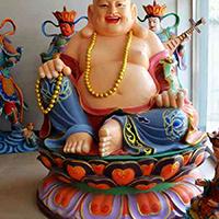 XFGS700-弥勒菩萨铜雕塑像加工厂