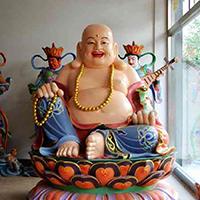 XFGS701-弥勒菩萨铜雕塑像厂家