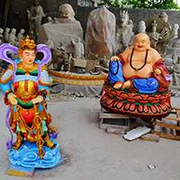 XFGS702-弥勒菩萨铜雕塑像厂
