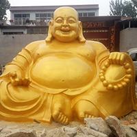 XFGS703-弥勒菩萨铜雕塑像定制