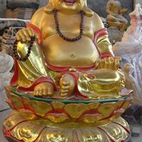 XFGS718-弥勒菩萨铜雕塑像厂