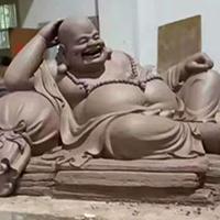 XFGS748-弥勒菩萨铜雕塑像加工厂