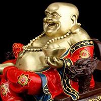 XFGS753-弥勒菩萨铜雕塑像报价