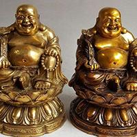 XFGS755-弥勒菩萨铜雕塑像制作
