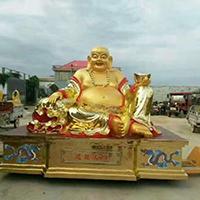 XFGS764-弥勒菩萨铜雕塑像加工厂