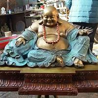 XFGS765-弥勒菩萨铜雕塑像厂家