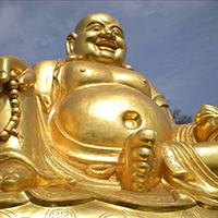 XFGS768-弥勒菩萨铜雕塑像设计