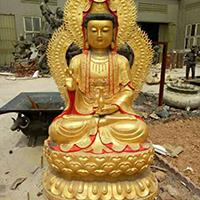 XFGS788-菩萨铜雕塑像_铜雕观音像哪家好