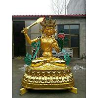 XFGS790-菩萨铜雕塑像_铜雕观音像多少钱