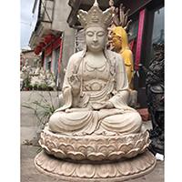 XFGS799-菩萨铜雕塑像_铜雕观音像定制