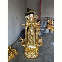 XFGS801-菩萨铜雕塑像_铜雕观音像报价