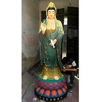 XFGS809-菩萨铜雕塑像_铜雕观音像公司