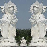 XFGS928-三面观音石雕塑像设计