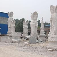 XFGS929-三面观音石雕塑像报价