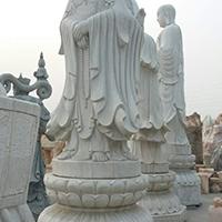 XFGS944-三面观音石雕塑像设计
