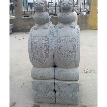【石雕抱鼓石系列055】抱鼓石雕刻厂