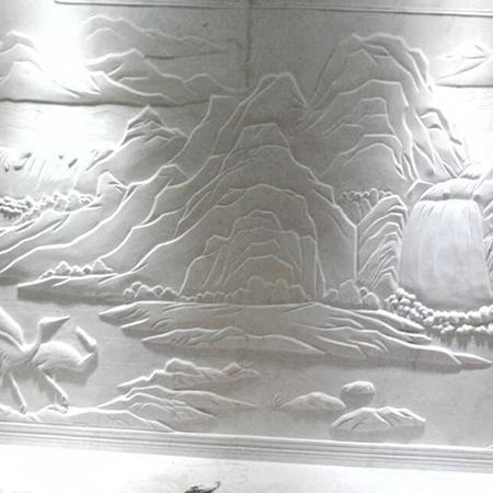 【浮雕0003】石雕背景墙厂