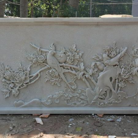 【浮雕0156】影壁墙石浮雕价格