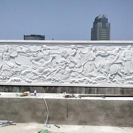 【浮雕0164】影壁墙石浮雕定做