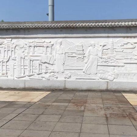 【浮雕0166】影壁墙石浮雕供应