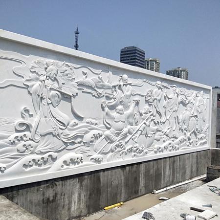 【浮雕0168】影壁墙石浮雕价格