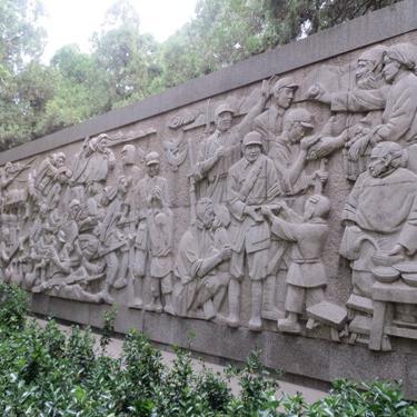 【浮雕0171】影壁墙石浮雕厂
