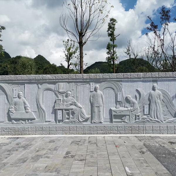 【浮雕0174】影壁墙石浮雕公司