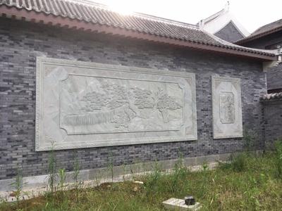 【浮雕0183】影壁墙石浮雕厂