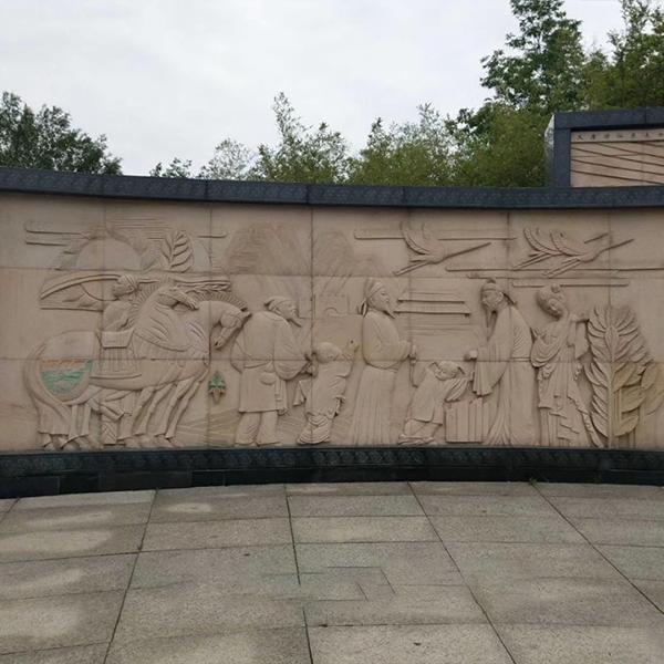 【浮雕0194】影壁墙石浮雕雕刻厂
