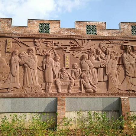 【浮雕0369】文化墙石浮雕厂家