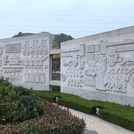 【浮雕0374】文化墙石浮雕价格