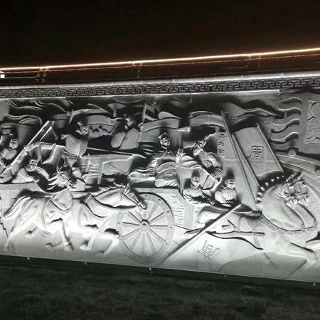 【浮雕0375】文化墙石浮雕多少钱