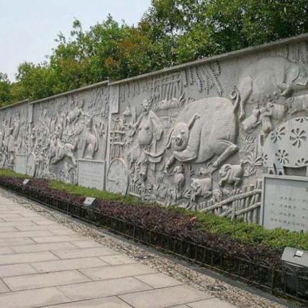 【浮雕0377】文化墙石浮雕厂