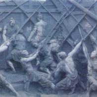 【浮雕0380】文化墙石浮雕公司