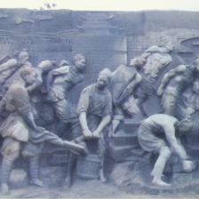 【浮雕0381】文化墙石浮雕厂家