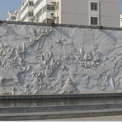 【浮雕0384】文化墙石浮雕供应