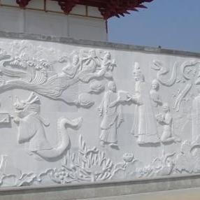 【浮雕0385】文化墙石浮雕报价