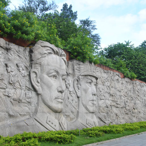 【浮雕0388】文化墙石浮雕雕刻厂