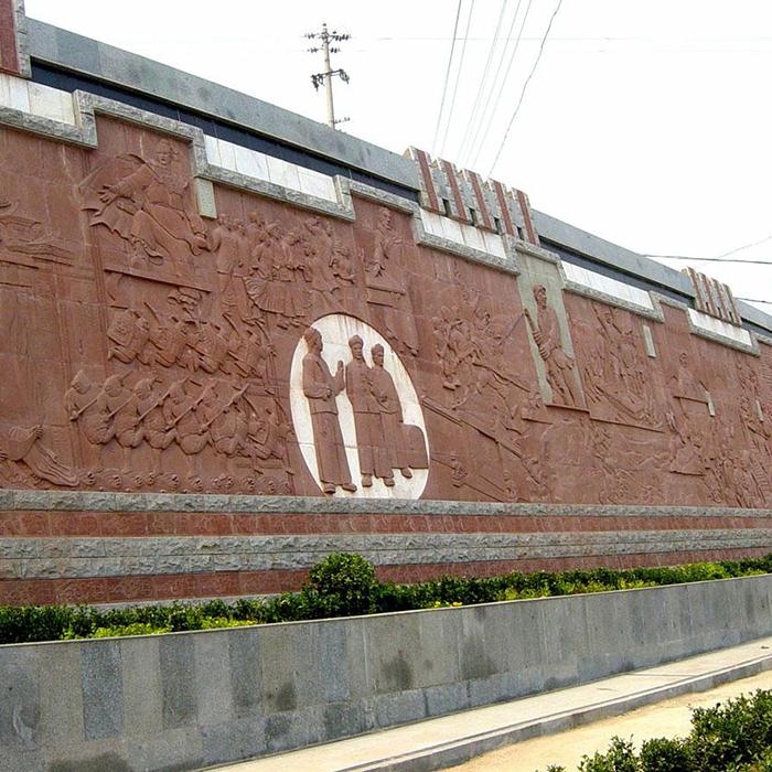 【浮雕0389】文化墙石浮雕厂