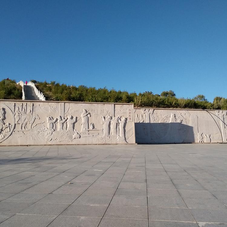 【浮雕0393】文化墙石浮雕厂家