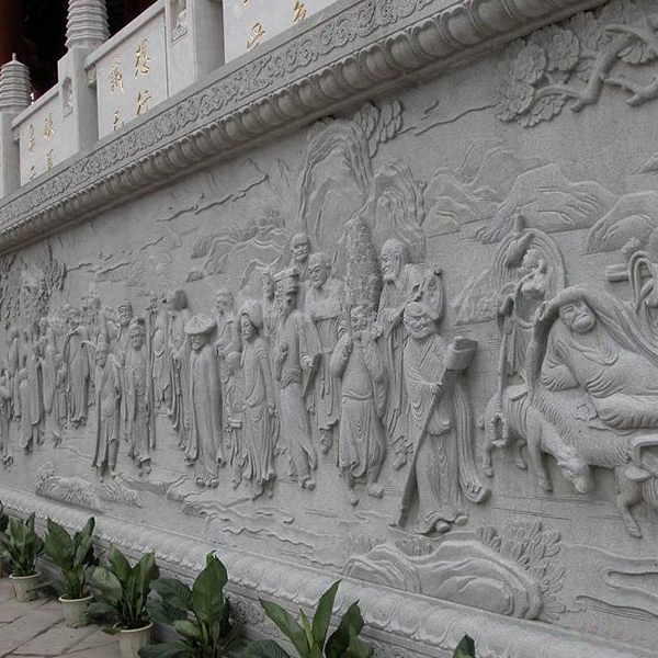 【浮雕0405】文化墙石浮雕厂家