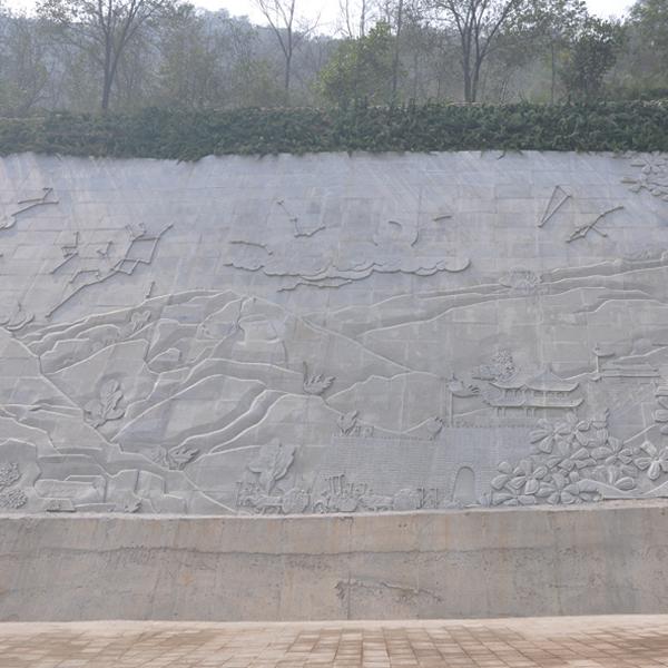 【浮雕0412】文化墙石浮雕雕刻厂